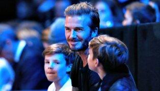 Hijo de David Beckham debuta como cantante