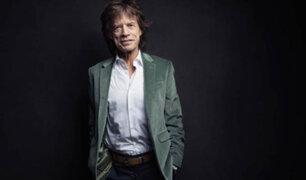 Cantante Mick Jagger fue padre por octava vez a los 73 años
