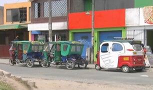 Mototaxis informales invaden Ate Vitarte y Santa Anita