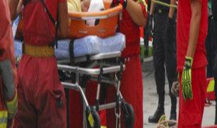 San Miguel: auxilian a hombre de 160 kilos que permanecía en vivienda