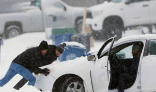 EEUU: Tormenta de nieve deja tres muertos en Michigan