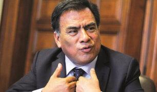 Velásquez Quesquén presenta proyecto de ley para establecer restricciones a terroristas