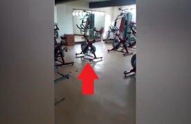Escalofriante: graban supuesta actividad paranormal dentro de un gimnasio