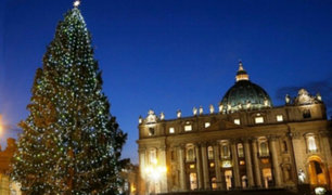 Navidad en el Vaticano: realizan tradicional encendido de árbol navideño