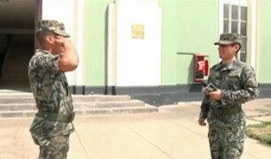 Gyofred Muñoz se convirtió en cadete de la Escuela Militar de Chorrillos