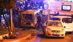 Estambul: explosión de coche bomba deja al menos 29 muertos