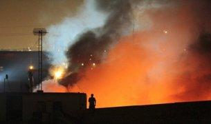 Incendio en fábrica de pinturas: explosiones causaron alarma entre vecinos