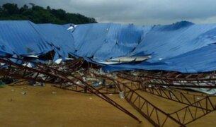 Nigeria: techo de iglesia se desploma y mata a 160 personas