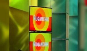 'Ñuqanchik': se estrenó primer noticiero en quechua