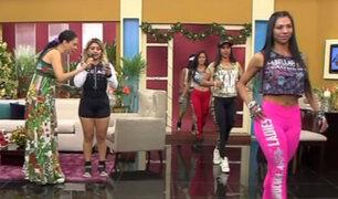 Combinado: Rubí Rojas nos presenta un espectacular desfile de leggins deportivos