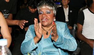 Cantante criolla Lucila Campos falleció a los 78 años