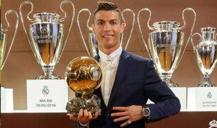 Cristiano Ronaldo gana el Balón de Oro 2016