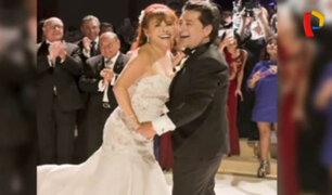 Magaly Medina tuvo glamoroso matrimonio