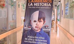 Directora del Hospital del Niño invoca a tener cuidado con los pirotécnicos