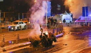Gran conmoción por ataques terroristas en Turquía