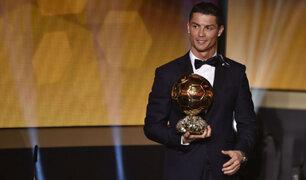 """Cristiano Ronaldo: """"Nunca imaginé ganar cuatro veces el Balón de Oro"""""""