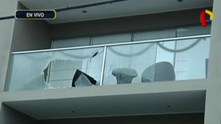 Surco: desconocidos lanzan granadas contra edificios