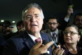 Brasil: denuncian al presidente del Senado en caso Lava Jato