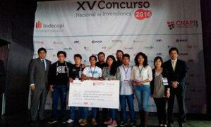 Universitarios peruanos crearon peladora de cuyes automática y ganaron en Concurso Nacional de Invenciones 2016