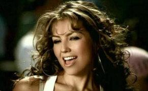 Thalía es criticada por hacer polémico reto 'Shiggy Challenge'