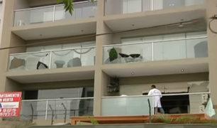 Surco: vecinos atemorizados tras explosión de granadas en edificio
