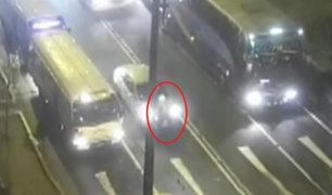Video capta el momento en que policía habría disparado a conductor