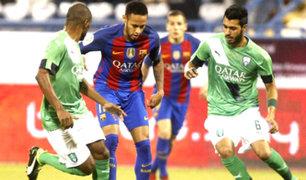 Barcelona goleó 5-3 al Al-Ahli de Qatar en partido amistoso