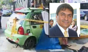 Rector de la Universidad Señor de Sipán murió en accidente de tránsito en Surco