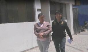 Detienen a embarazada que cobraba extorsiones dirigidas desde penal
