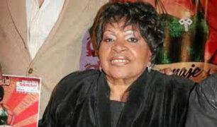 Artistas recuerdan con cariño a Lucila Campos