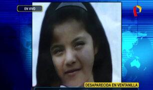 Ventanilla: familia denuncia desaparición de niña de 10 años