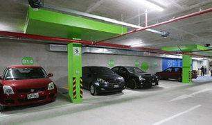 Miraflores: moderno estacionamiento subterráneo empezó a  funcionar hoy