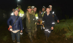 Chapecoense: condecoran a bombero peruano por su labor en rescate