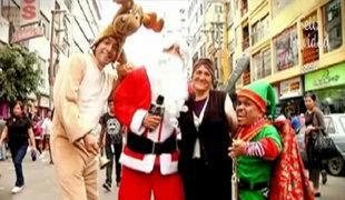 Víctor Hugo Dávila se convirtió en Papá Noel por un día