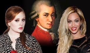 Billboard : Mozart vendió más discos que Beyoncé y Adele este año