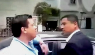 San Isidro: conductores se enfrentan a vecinos por estacionamientos