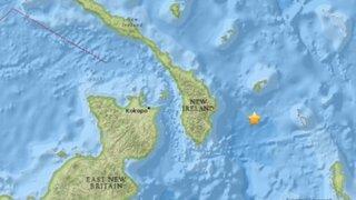 Alerta de tsunami por terremoto de magnitud 7,9 en Papúa Nueva Guinea