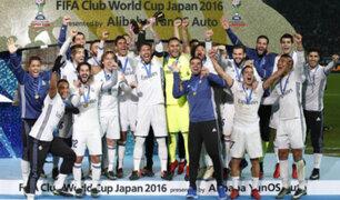 Real Madrid se coronó campeón mundial de clubes por quinta vez