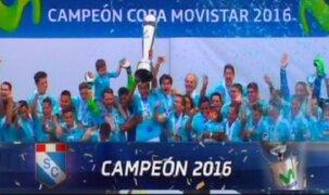 Sporting Cristal se consagró campeón del Descentralizado 2016