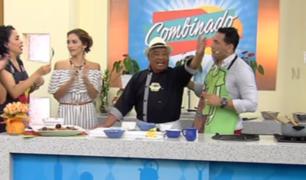 Combinado: Don Pedrito volvió y nos preparó unos ricos medallones de pavita con salsa de mango