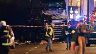 Alemania: camión atropella a multitud en mercado navideño y deja 12 muertos