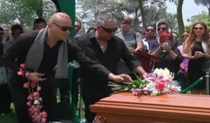 Dan último adiós a la madre de Carlos Cacho