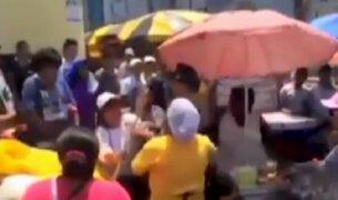 La Victoria: ambulantes se pelean por apropiarse de la vía pública
