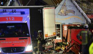 Angela Merkel confirma que ataque en Berlín fue un atentado terrorista