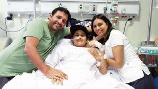 Menor atacado por ameba despertó del coma