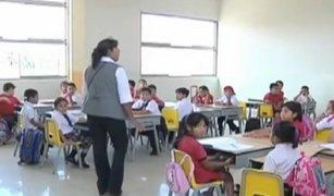 Niños que cumplan 6 años hasta el 31 de julio podrán ser matriculados en año escolar 2017