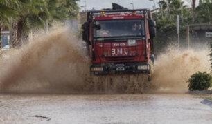 Fuertes lluvias provocan inundaciones en varias localidades de España