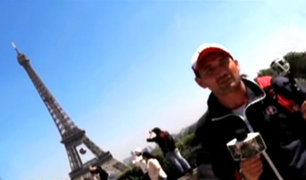 Víctor Hugo Dávila y su espectacular recorrido por París