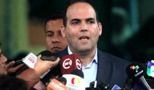 Fernando Zavala negó que Gobierno haga reglaje a sus funcionarios