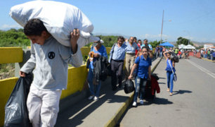 La situación se agudiza a horas de restricción de ingreso de venezolanos sin pasaporte